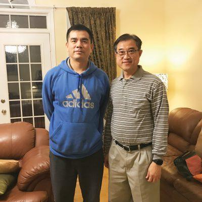 Ocean Zhai (左)及其製作拍檔 Jackie Wong(右) | Ocean Zhai (left) production partner Jackie Wong (right)